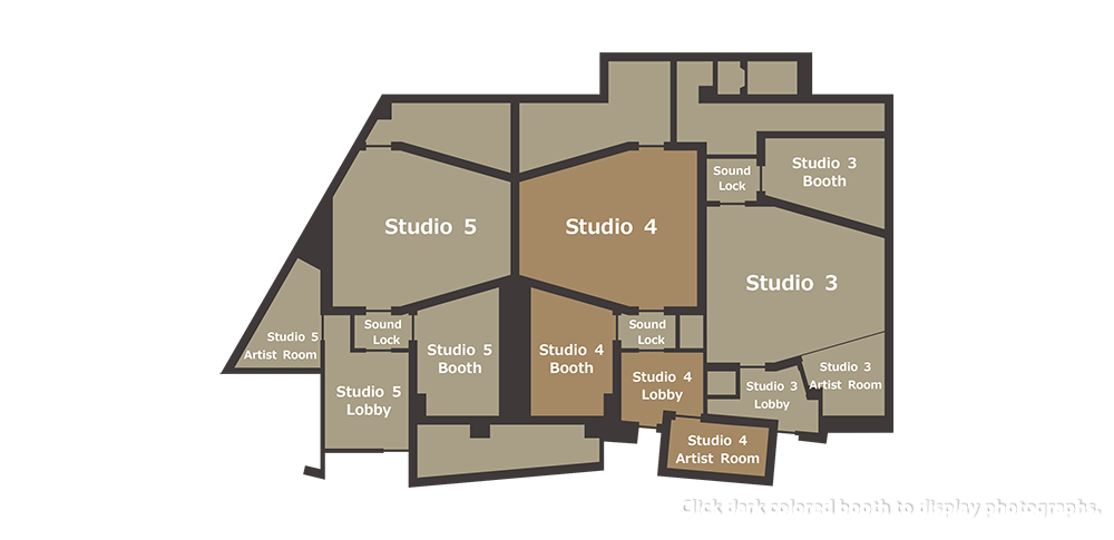 studio 1 & 2 floor plan