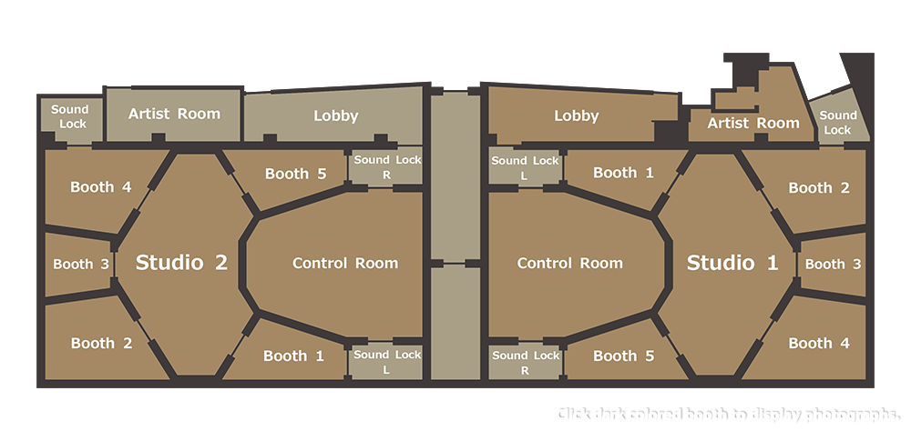 studio1&2 floor plan