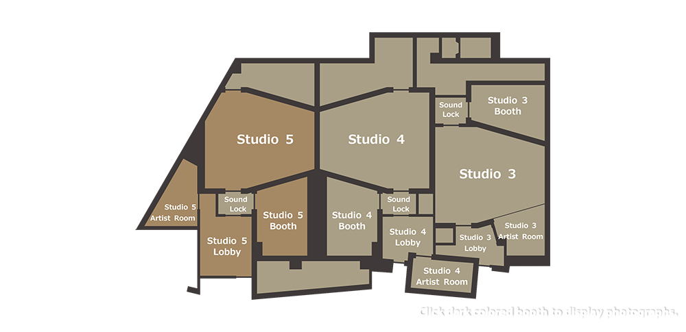 studio 1 & 2 floor plan.